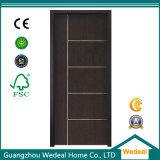 Modern Simple Flush Interior PVC Laminated Wooden Door