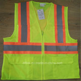 Durable Safety Vest with High Reflective Tape