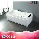 K-8844 China Foshan Square Bathtub Wholesaler, Rectangular Water Jet Product, Big Project First Choose Room Bathutb