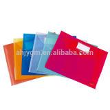 Hot Sale A4/FC Transparent Color PP Document File Bag