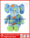 Customizing Soft Cute Colorful Plush Elephant Toy