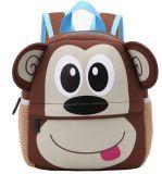 Custom Kids Backpack, Digital Art Waterproof Toddler Kids 3D Cute Zoo Cartoon Pre School Children Toddler School Book Bags