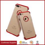3-in-1 Transparent Clear Reinforced Corner Soft Silicone TPU Phone Case