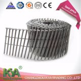 15 Degree Hot DIP Galvanized Ring Shank Wire Collated Coil Nails