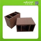 160*80mm Square Wood Plank Hollow Composite Plastic WPC Pillar