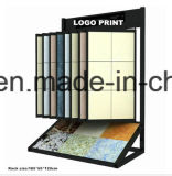 Customized Metal Floor Display Shelves Stands for Tiles Stor