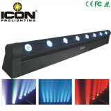 8X10W 4in1 Single Pixel Control LED Moving Head Bar Light