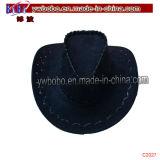 Leather Western Cowboy Hats Mexican Cowboy Hat Promotional Cap (C2027)