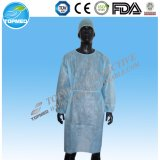 Disposable Medical Use PP/PP+PE/SMS Isolation Gown