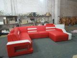 Modern Genuine Leather Corner Sofa for Liviing Room Sofa Furniture