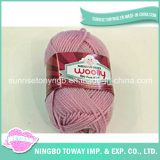 Acrylic Weaving Winter Hat Pure Wool Knitting Yarn