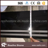 Wholesale Absolute Black Granite for Step and Stair