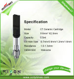 Wholesale Cbd Ceramic Cartridge C7 Hemp Oil Cartridge