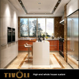 High Gloss Painting Kitchen Cabinet Wood Veneer Wardrobe Whole House Furniture Tivo-052VW