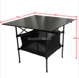 82*82*69 Outdoor Folding Aluminum Alloy Special Barbecue Table
