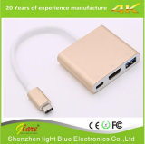 USB 3.1 C Type to HDMI+USB 3.0+Type C Hub Adapter