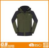 Men′s 3 in 1 Outdoor Waterproof Warm Jackets