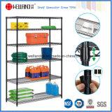 "800lbs Adjustable 6 Shelf 18"" X 48"" X 72"" NSF Metal Storage Wire Shelving Rack System"