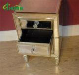 Bedroom Handmade Mirrored Nightstand/Mirrored Bedside Table for Home Decor