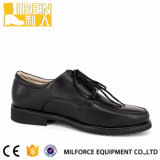 Black Stylish ISO Standard Cheap Military Officer Shoes