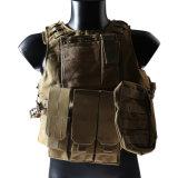 Airsoft Military Molle Combat Vest Nylon Tactical Vest Tan