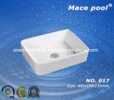 Beautiful Style Ceramic Wash Basin for Asia Market (017)