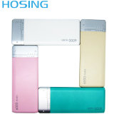 6000mAh Portable Ultra-Thin Mobile Power Bank Leather Charger Powerbank with Polymer External Battery