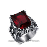 Wholesale Big Red Ruby Stone Designs for Men and Women Gemstone Rings