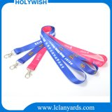 OEM Dye Fabric Sublimation Transfer Printed Lanyard Thumb Trigger Hook