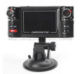 Two Lens Car Dvrs Vehicle Camera Wide Angle Night Vision