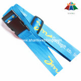 "High-Quality Polyester 2"" Printed Luggage Strap with Plastic Buckle"