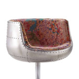 Modern Style Swivel Single Aluminium Cup Chair