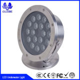 DMX512 RGB/Single Color High Brightness 12W IP68 Waterproof LED Underwater Light