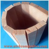 Contoured Balsa Core for Usage in Not Flat Area