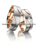 Wholesale CNC Jewelry Ring Ladies Rings Antique Gold Plated Jewelry CZ Stone Ring