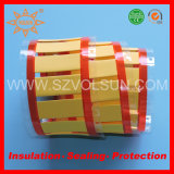 Yellow/White Polyolefin Heat Shrink Cable Marker Tube