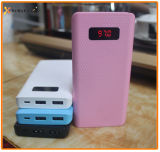 Cheap Large Capacity Colorful Mobile Power Bank with LED Display