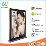 82 Inch Big Size Outdoor LCD Advertising Screen with High Brightness Sunlight Readable (MW-821OD)