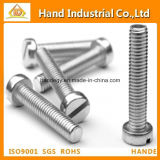 China Stainless Steel A4 Slotted Cheese Head Screw