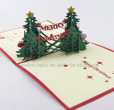 OEM 3D Handmade Pop up Greeting Christmas Wedding Card