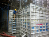 Aluminum Forms for High-Rise Building Construction