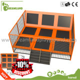 Amusement Commercial Trampolines for Sale, Exercise Mini Bungee Jumping Indoor Olympic Trampolines