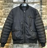 Classic Men Padded Bomber Outdoor Jacket with Casual Fit