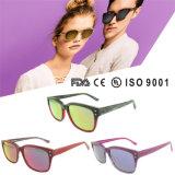 Italian Acetate Sunglasses Handmade Polarized Sunglasses with Ce and FDA
