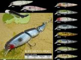 Made in Chinas 3 Joint Plastic Hard Fishing Lures