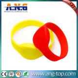 Waterproof 13.56MHz NFC Silicone RFID MIFARE Ultralight C Bracelet
