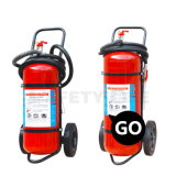 Safety Life Unbeatable Price of 25kg, 50kg Ce Wheeled Trolley Dry Powder Fire Extinguisher