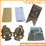 Gold/Silver Plated Money Clip with Custom Design (YB-MC-03)