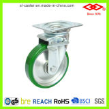 100mm PU Wheel Medium Heavy Duty Industrial Caster (P155-46FB100X40S)