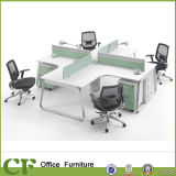 High Quality OEM Welcome Office Furniture Cross Shaped Desk